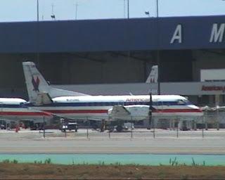 American Airways on Los Angeles International Airport