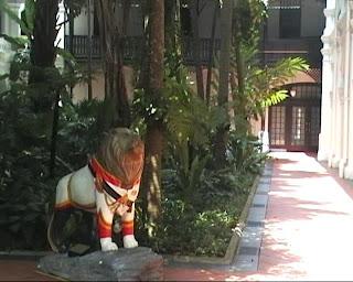 Raffles Hotel Singapore Garden