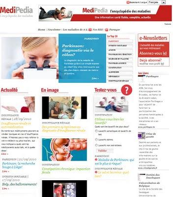 MediPedia, l'encyclopédie des maladies