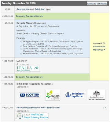 programme bio europe 2010 16 nov 2010 munich