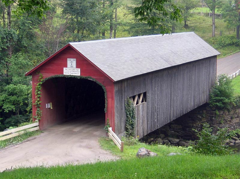 Creative Style Old Covered Bridges