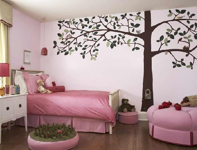 Small bedroom decorating ideas bedroom wall painting ideas for Bedroom mural painting