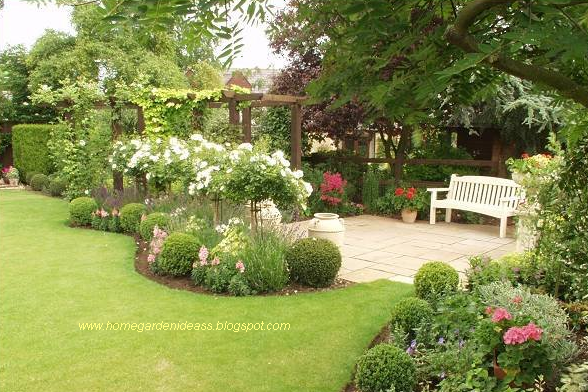 Home garden ideas garden landscaping ideas for Landscaped back gardens