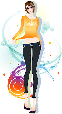 Wallpapers - Girls from Vector