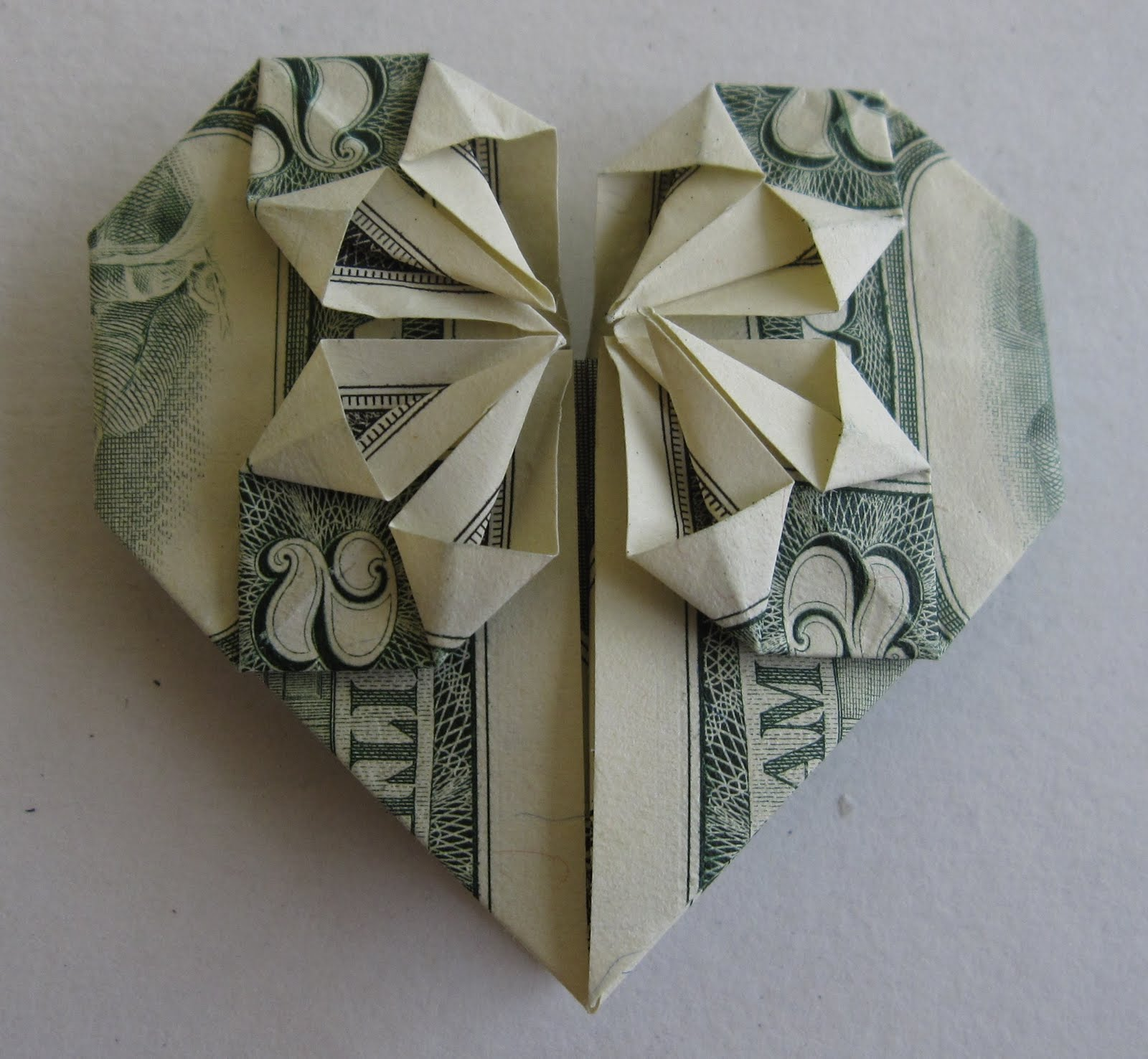 heartshaped origami three wisdoms