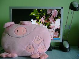 Un porc roz