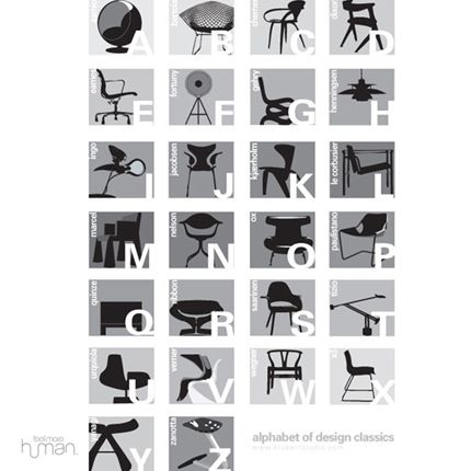 [Chair+black+ABC+poster]