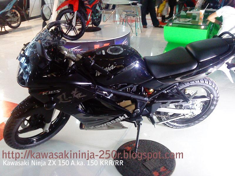 Kawasaki Ninja Rr 150. Kawasaki Ninja zx150 KRR,