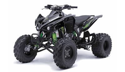 Monster Energy - 2009 Kawasaki KFX 450R Specification | Motorcycles