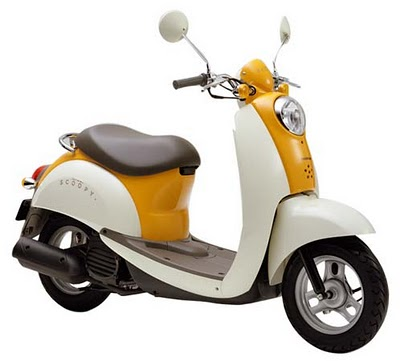 Honda on Honda Scoopy   New Honda Motorcycles Prices And First Look