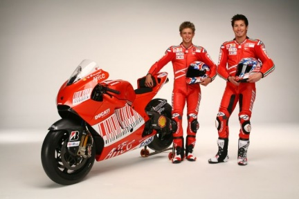 Rossi was able to get the best position di Ducati, a matter of time,