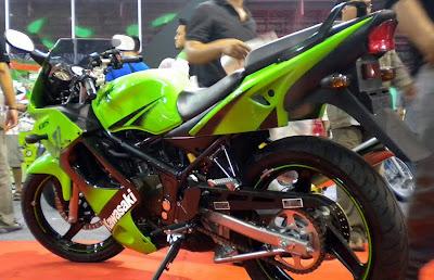 Kawasaki Ninja 150 RR Facelift