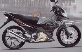 New Suzuki Satria FU 150 Black