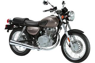 2011 Suzuki TU250X motorcycle