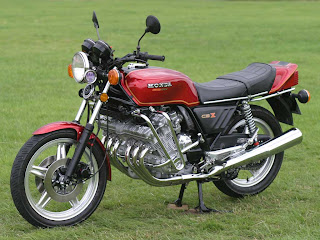 Honda CBX 1000 red