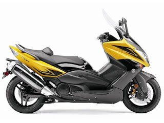 Yamaha T-Max Yellow