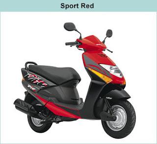 Honda Dio red