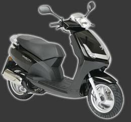 Scooter Peugeot 125 - VIVACITY 125cc