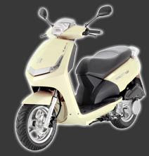 Scooter Peugeot 125 - VIVACITY 125cc Ivory