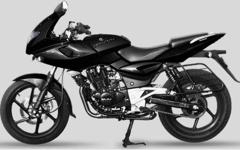 Bajaj Pulsar 220 colors variant, Black is great ...