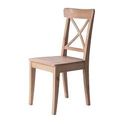 Ingolf stol i vitt, 595 kr. Genast dyrare, men jag älskar den här ...