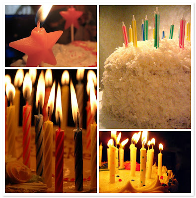 1. birthday cake candles, 2. Birthday Cake and 28 Candles,