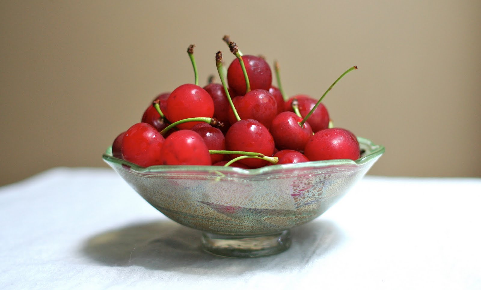 Buttered Bread: Sour Cherries