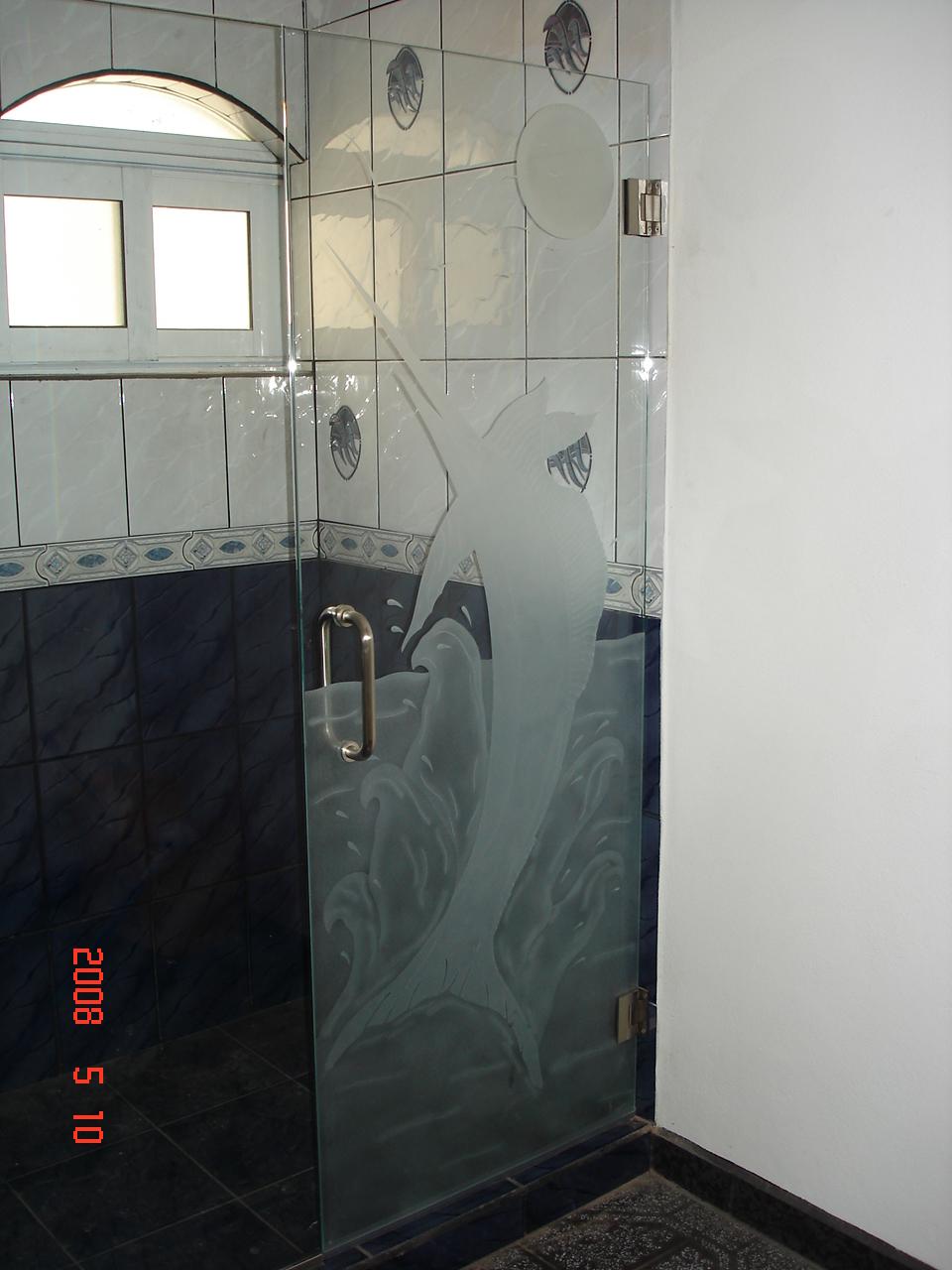 Puertas De Baño Mexicali:arenados y vitrales: puertas de baño con y sin diseño arenado