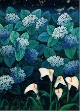 hortensias y calas