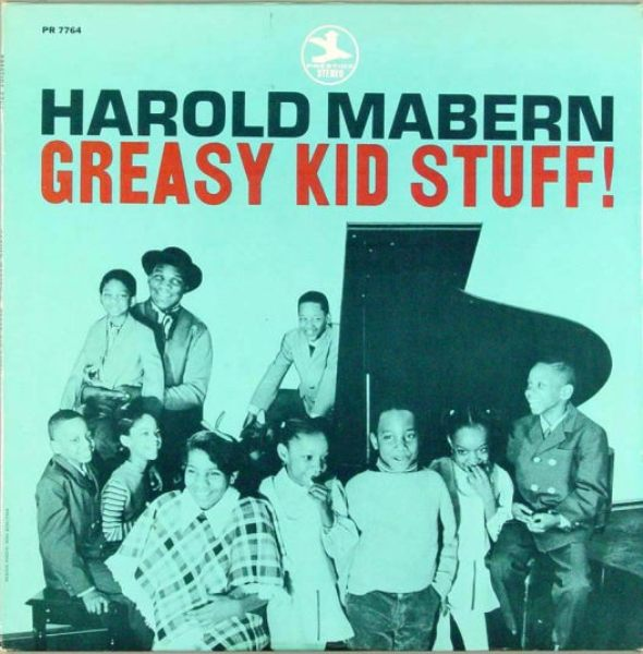 harold mabern - greasy kid stuff (sleeve art)