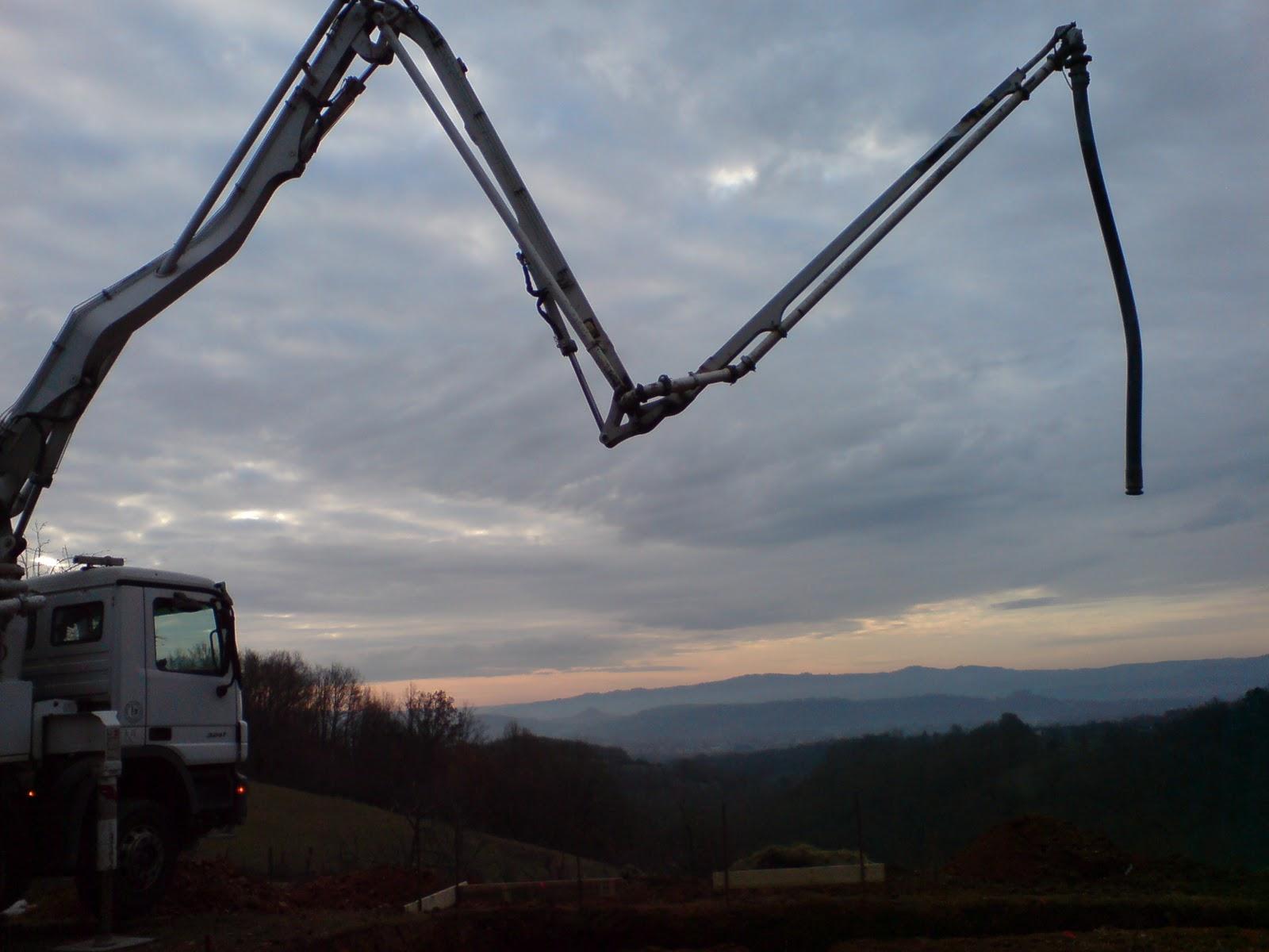 Eco projet en corr ze les fondations coulage de la semelle - Prix m3 beton fait main ...