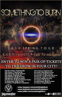 Win a Pair of Tickets to Karnivool's Show at Gramercy Theater on March 31st with Something to Burn and Fair to Midland