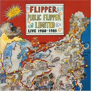 Flipper - Public Flipper Limited: Live 1980 - 1985 CD Review (Water Records)