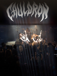 Cauldron Releases Debut CD 'Chained to the Night' on Earache Records