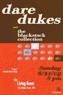 Dare Dukes Plays The Living Room on June 21st