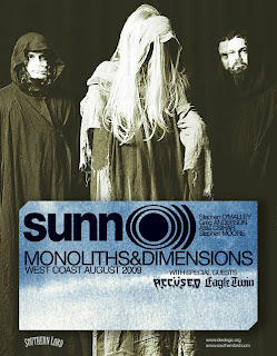 Sunn O))) Announce West Coast Tour Monoliths & Dimensions Tour in August