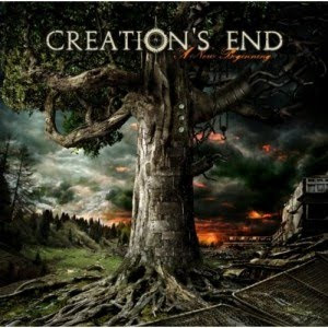 Creations End – Live Footage from Debut Show / 'A New Beginning' CD Review