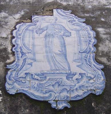 Setúbal. Registo de azulejos. Foto do autor