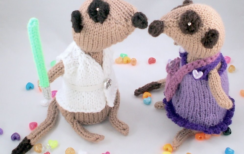 So Much Yarn So Little Time Look Mum The Meerkats Got New Clothes