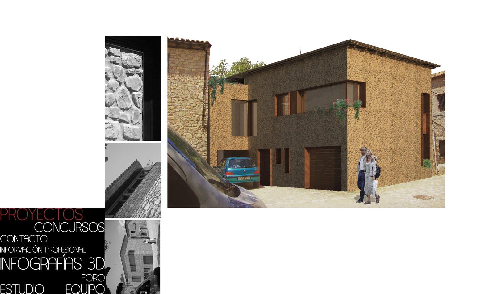 Af arquitectos 09 vivienda en medinaceli soria - Arquitectos en soria ...