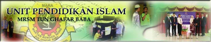 UNIT PENDIDIKAN ISLAM MRSM TGB
