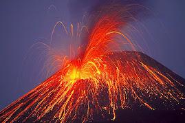 Anak Krakatau explodes