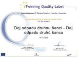 Certifikát kvality SK
