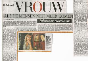 Het artikel zoals het op 13-10-2010 in de telegraaf heeft gestaan
