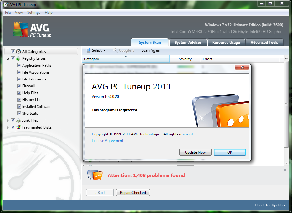 Avg pc tune up 2017 tested working crack