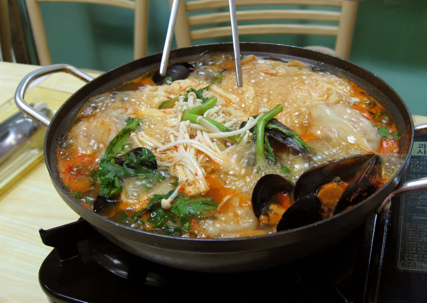 The worrywart the power of geography favorite foods and for Cuisine korean
