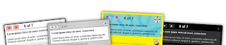 Site Page navigation tour widget for blogger