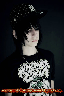 Hair Cut Styles And Tattoo Designs Emo Hairstyle Boy Cap