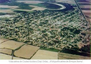 Vista aerea de Diaz Ordaz
