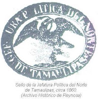 Sello Jefatura Politica Norte Tamaulipas